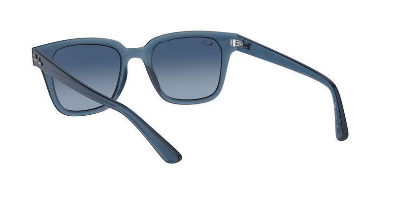 Azure Gradient Blue Sunglasses