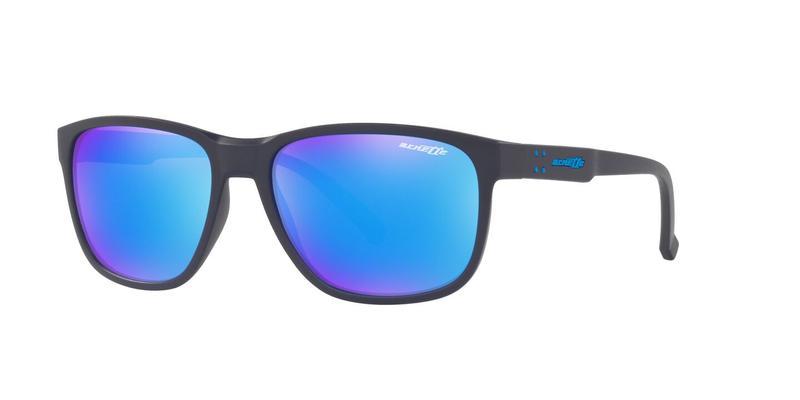 Green Mirror Light Blue Sunglasses