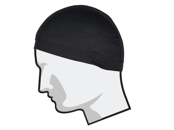 GrandPitstop COOLFIT Helmet Skull Cap (Black)