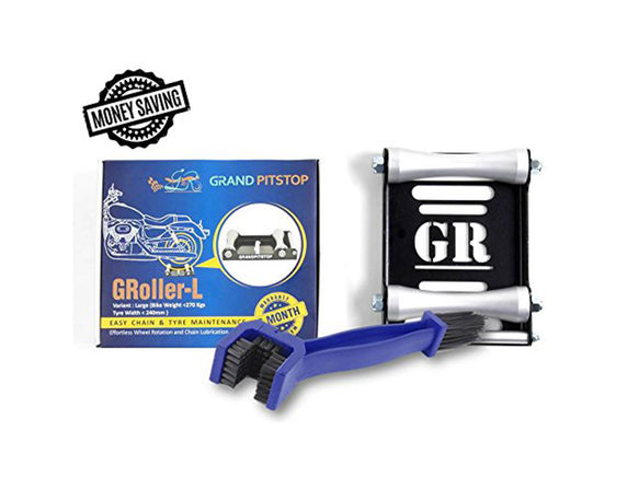 GRoller Large with Chain Clean Brush