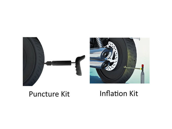 Mini Plug & Inflator Combo