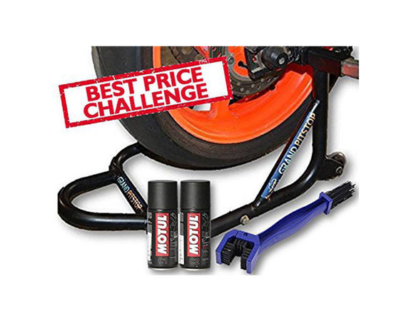 Paddock Dismantlable with Motul and Brush Combo