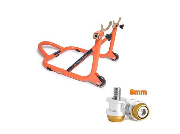 Paddock Dismantlable Orange & 8 mm Bobbins  Dual Cap