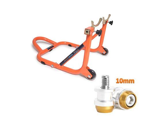 Paddock Dismantable Orange & 10 mm Bobbins  Dual Cap