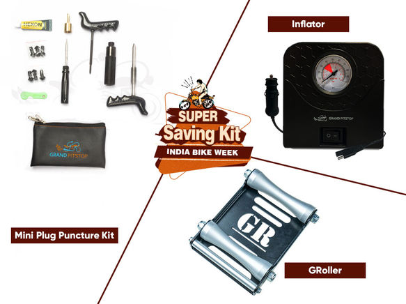 Groller Large Puncture & inflator Combo