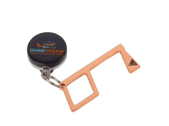 SafeTouch - Hygiene Safety Device for Corona Protection by GRAND PITSTOP (With Retractable String)