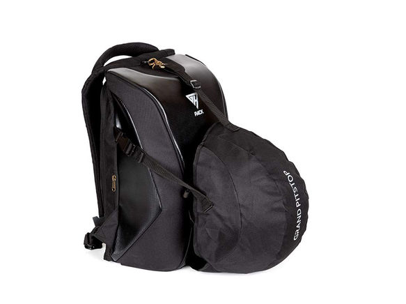 GR Pack Anti Theft Backpack for Bikers (Carbon)