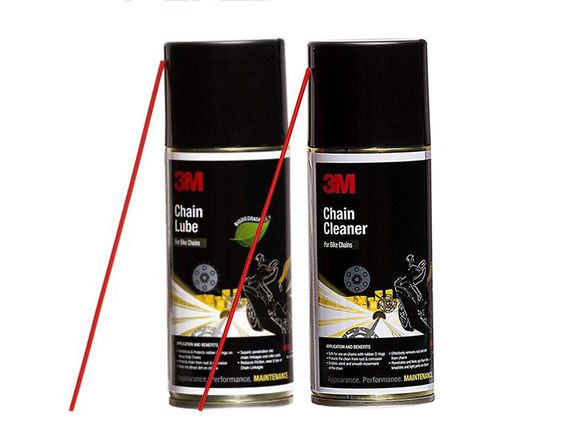 3M Chain Cleaner (475g) & Lube Combo (325g)