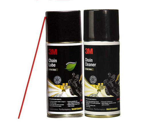 3M Chain Cleaner & Lube Combo