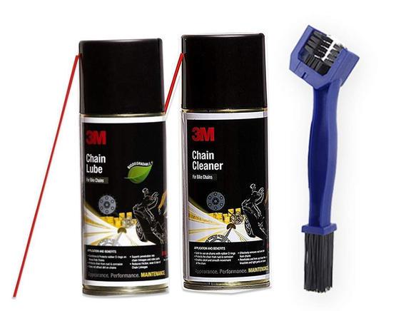 3M Chain Cleaning Kit (475g), Lube (325g) & Brush Combo