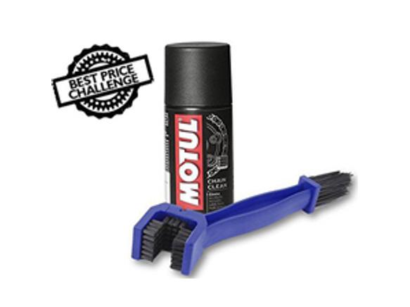 Chain Cleaning Brush & Motul Combo