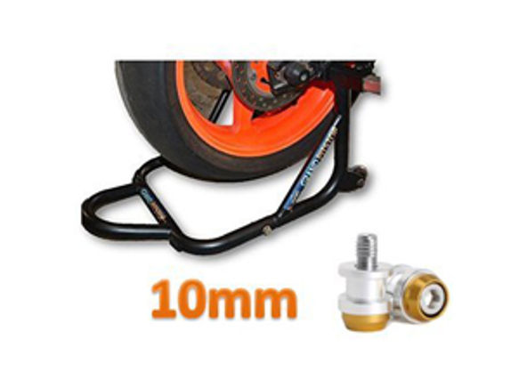 Paddock Dismantable Black & 10 mm Bobbins  Dual Cap-1