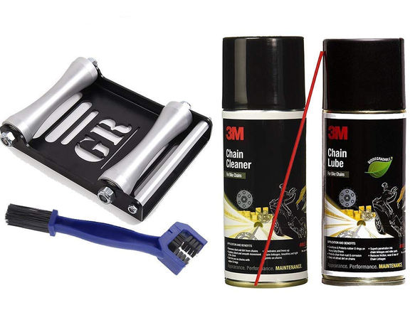 3M Chain Cleaning Kit & GRollerL Combo