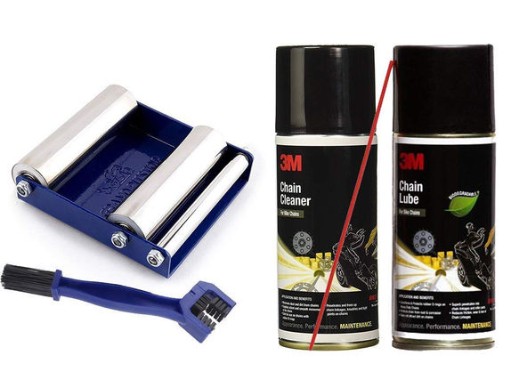 3M Chain Cleaning Kit & GRollerS Combo