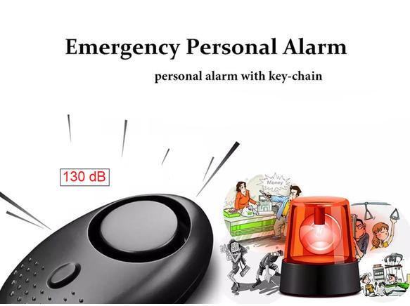 Women Safety Alarm ( Black )