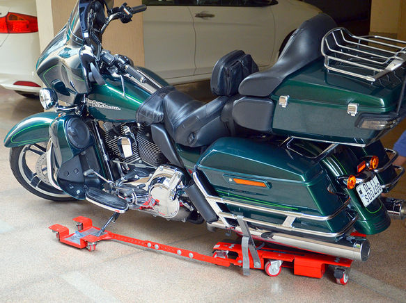 Bike Stand - Motorcycle Dolly for Parking - Large