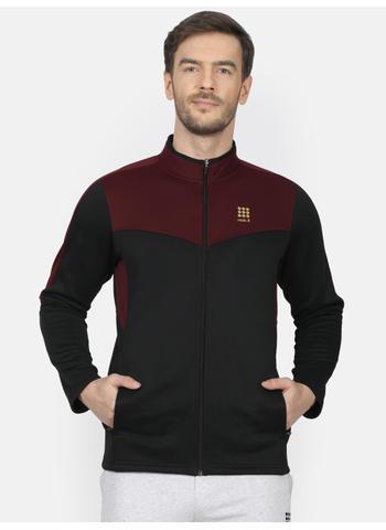 Rockit Black Collar Regular Fit Sweatshirt