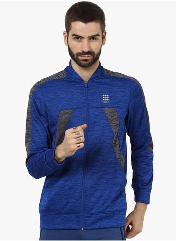Rockit Royal Navy Grindle Collar Smart Fit Sweatshirt