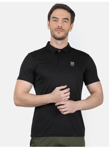 Rockit Black Collar Regular Fit T-Shirt