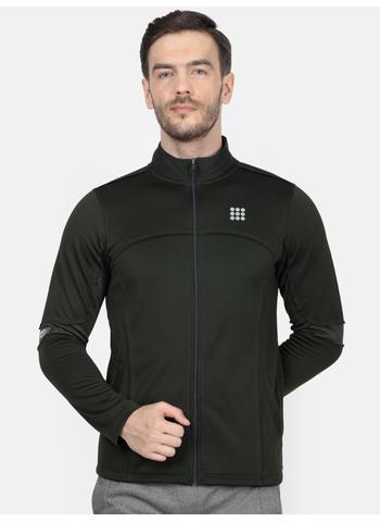 Rockit Olive Collar Regular Fit Sweatshirt