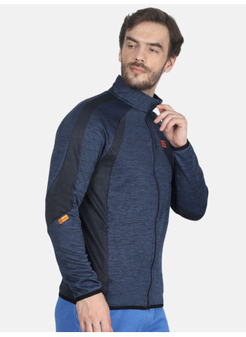 Rockit Blue Collar Regular Fit Sweatshirt