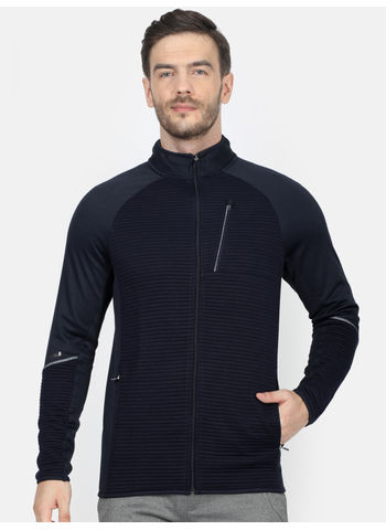 Rockit Navy Collar Regular Fit Sweatshirt