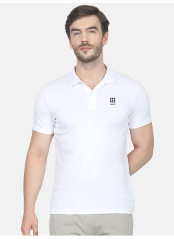 Rockit White Collar Regular Fit T-Shirt