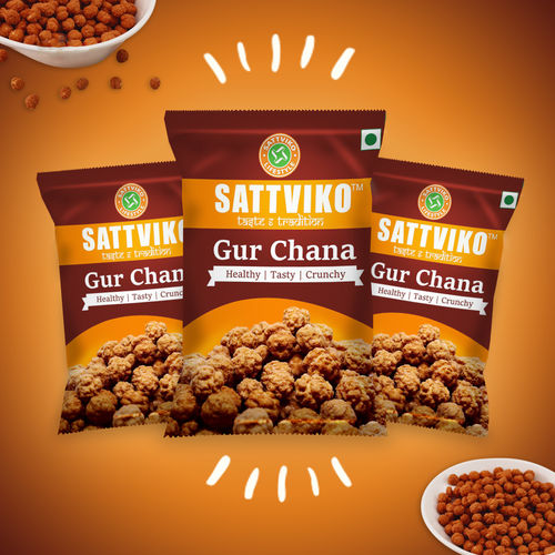 Sattviko Gur Chana (25gm)