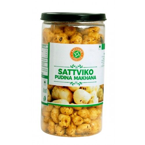 Sattviko Pudina Makhana Pet Jar (70 Grams)