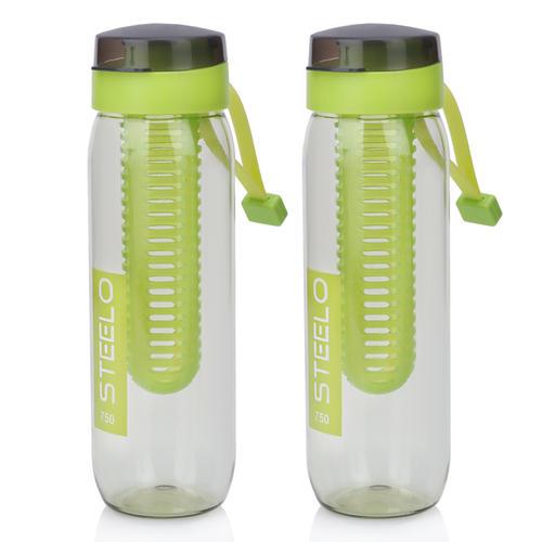 Steelo 750ml x 2 pcs Sante Infuser Water Bottle (Green)