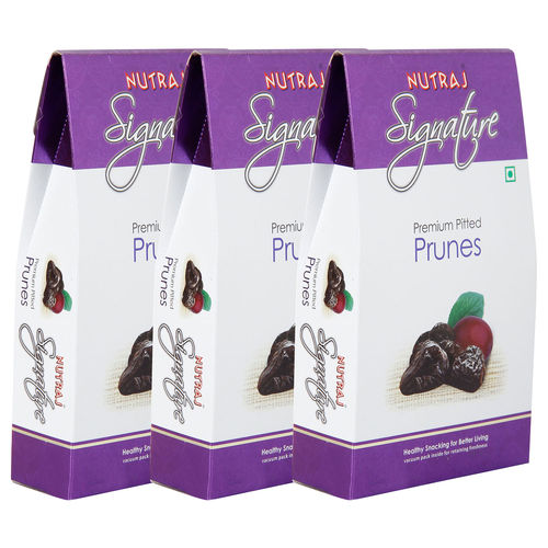 Nutraj Signature - Premium Pitted Prunes - 200G (Pack Of 3)