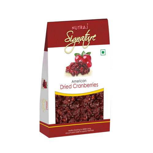 Nutraj Signature - Whole Cranberries  100G - Vacuum Pack
