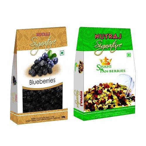Nutraj Super Saver Pack 200gm (Shahi Pan Berries + Dried Blueberries)