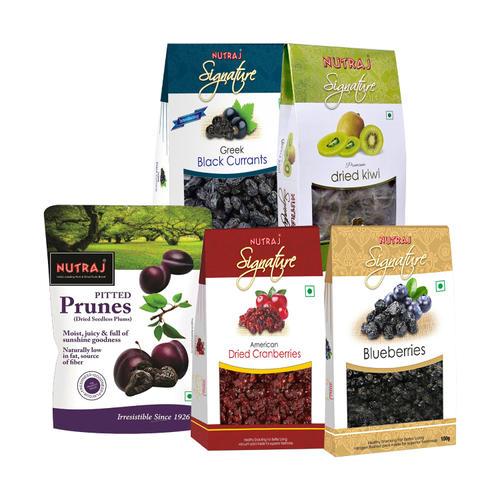 Nutraj Daily Need Combo (750gm)-(Cranberries, Black Currant, Dried Blueberries, Dried Kiwi, California Prunes)