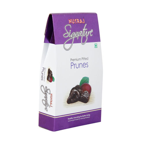 Nutraj Signature - Premium Pitted Prunes - 200G - Vacuum Pack