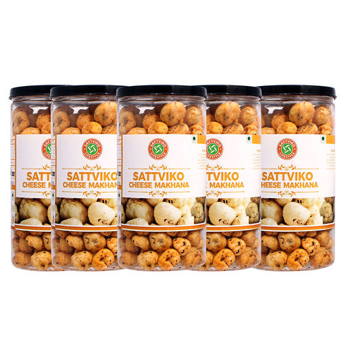 Sattviko Herb and Cheese Jar (70gm) - Pack of 5