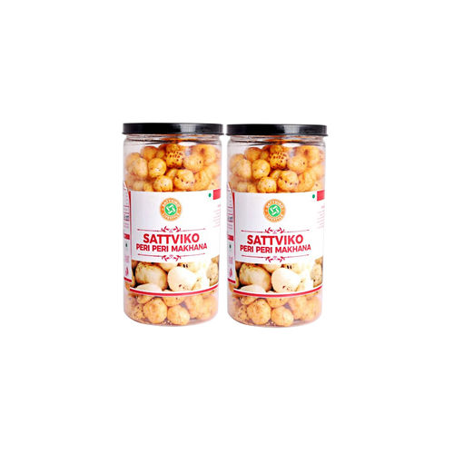 Sattviko Peri Peri Makhana (70gm) - Pack of 2