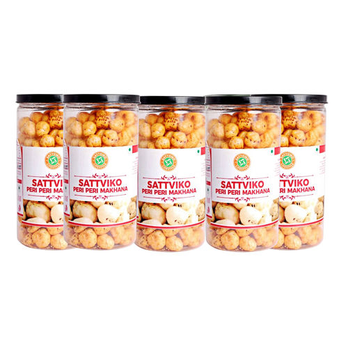 Sattviko Peri Peri Makhana (70gm) - Pack of 5