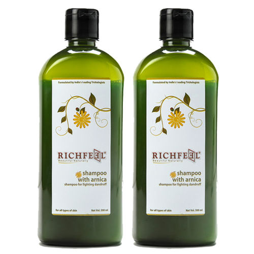 Richfeel Shampoo With Arnica 500ml (Pack Of 2)
