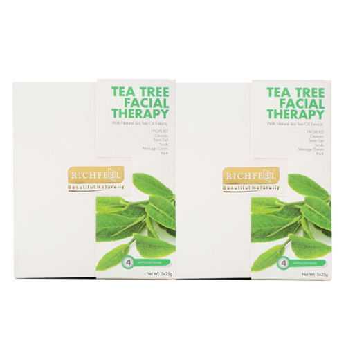 Richfeel Tea Tree Facial Therapy 125g (Pack Of 2)
