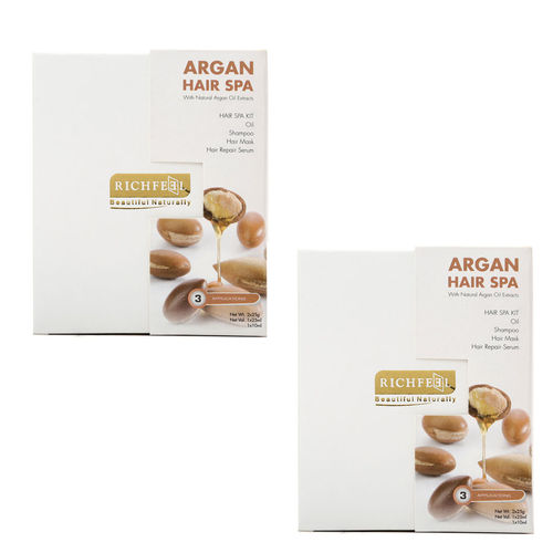 Richfeel Argan Hair Spa 85g (Pack Of 2)