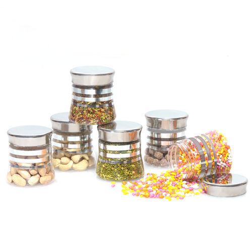Steelo 125ml x 6 pcs PET Container Set (Belly)