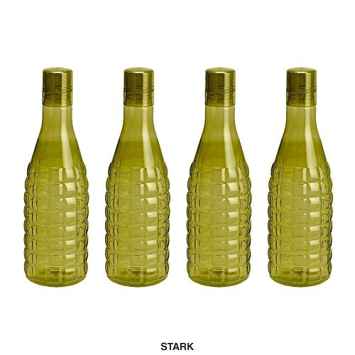 Steelo Stark Water Bottle, 1000ml, Set of 4, Olivegreen