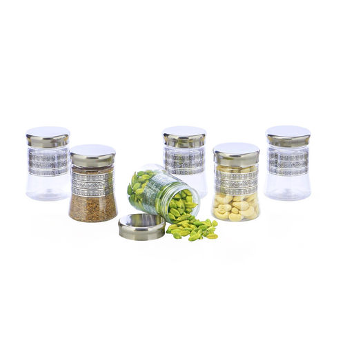 Steelo 200ml x 6 pcs PET Container Set (Belly)