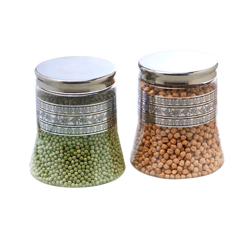 Steelo 2000ml x 2 pcs PET Container Set (Belly)