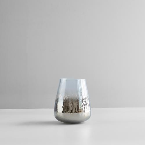 Small Brown Crack Flower Vase