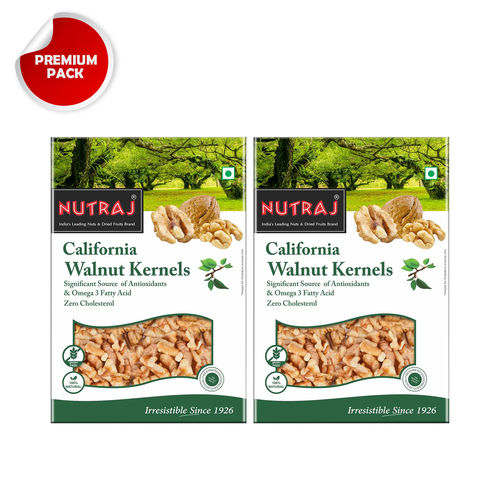 Nutraj California Walnut Kernels 250g (Pack of 2)