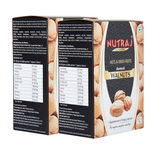 Nutraj Signature - Anmol Walnuts Inshell - 1000G (Pack Of 2)
