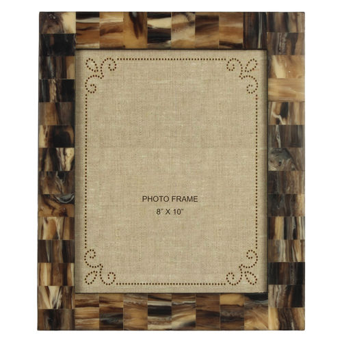 Decor Mart Brown / Multi Colour Resin Photo Frame for 10 X 8 inch photo