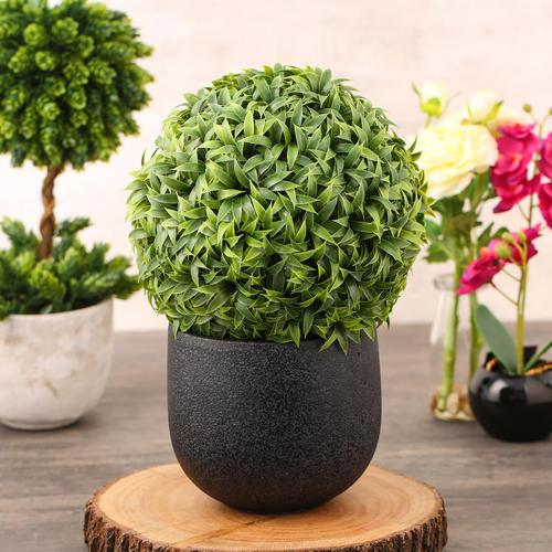 Mini Vanilla Ball Topiary